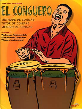 Illustration de El Conguero, méthode de congas - Vol. 1 : technique fondamentale