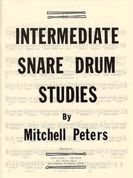 Illustration peters snare drum studies  intermediate
