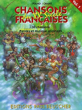 Illustration chansons francaises du 20eme siecle v 1