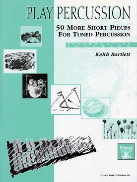 Illustration de 50 More short pieces for tuned percussion (intermediate/advanced)