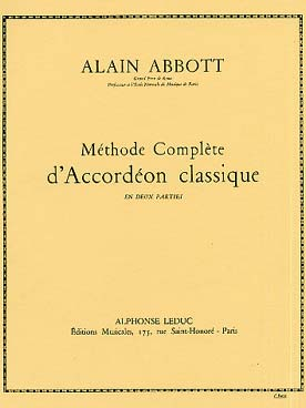 Illustration abbott methode complete d'accordeon v. 2