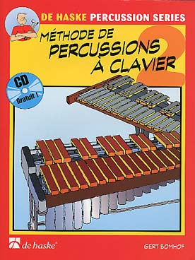 Illustration bomhof methode percussions clavier+cd 2