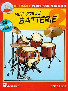 Illustration bomhof methode de batterie + cd vol. 2