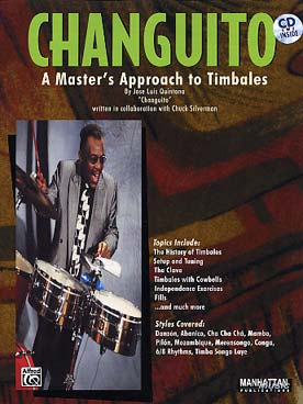 Illustration de Changuito : A master's approach to timbales