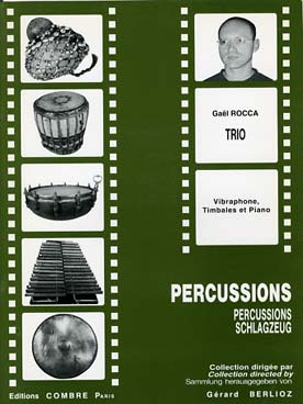 Illustration rocca trio (vibraphone/timbales/piano)