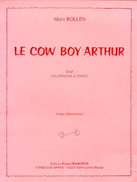 Illustration bollen cow boy arthur (le)