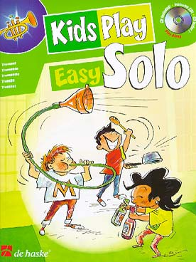 Illustration kids play easy solo avec cd