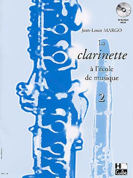 Illustration margo la clarinette vol. 2 avec cd