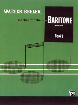 Illustration de Method for the baritone (euphonium) - book 1