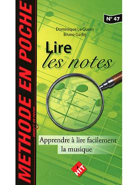 Lire facilement  les notes