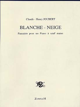 Illustration joubert blanche-neige (piano a 9 mains)