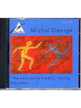 Illustration george he who walks freely, taking.....