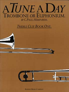Illustration a tune a day vol. 1 trombone/euph. sol