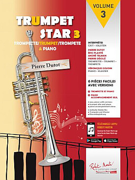 Illustration trumpet star avec cd vol. 3