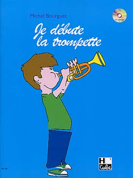 Illustration bourguet je debute la trompette avec cd