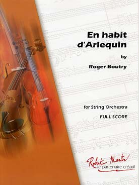 Illustration boutry en habit d'arlequin, suite