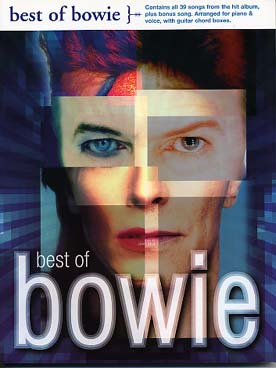 Illustration bowie best of (p/v/g)