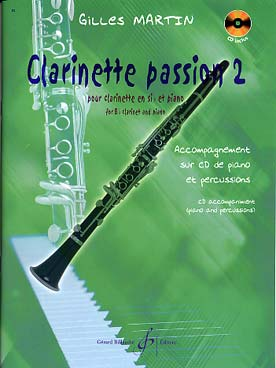 Illustration martin gilles clarinette passion 2 + cd