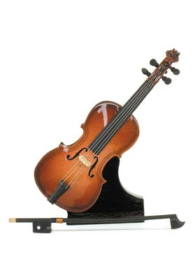 Illustration instrument miniature 1/8 e violoncelle