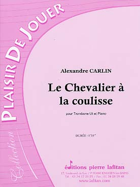 Illustration carlin chevalier a la coulisse (le)