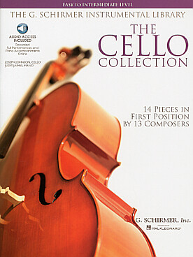 Illustration de The CELLO COLLECTION - Easy to Intermediate : 14 arrangements en 1re position d'œuvres célèbres