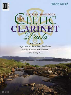 Illustration celtic clarinet duets