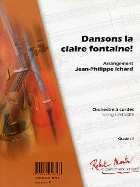Illustration dansons la claire fontaine !