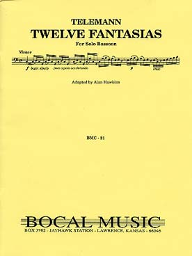 Illustration telemann fantaisies (12) tr. hawkins