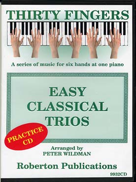 Illustration easy classical trios (tr. wildman) cd