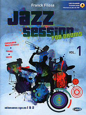 Illustration filosa jazz session