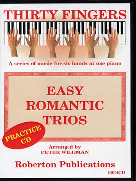 Illustration easy romantic trios (tr. wildman) cd