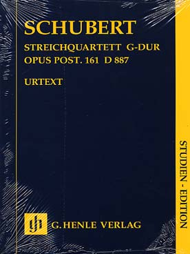 Illustration schubert quatuor d 887 op. post 161