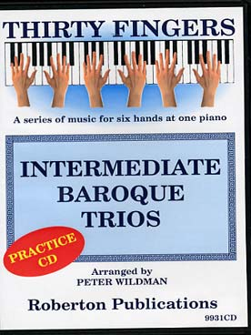 Illustration intermediate baroque trios (cd seul)