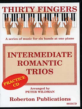 Illustration intermediate romantic trios (cd seul)