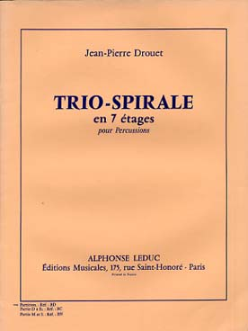 Illustration drouet trio spirale a 7 etages (cond.)