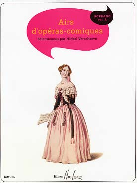Illustration airs d'operas comiques  (soprano)
