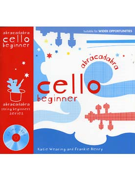 Illustration abracadabra cello debutant avec cd