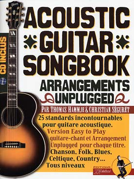 Illustration acoustic guitar songbook
