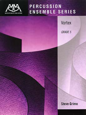 Illustration grimo vortex pour 5 percussions