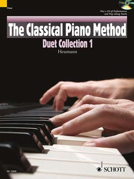 Illustration classical piano method duet 1 + cd