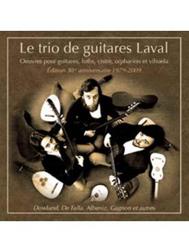 Illustration trio de guitares laval (le)