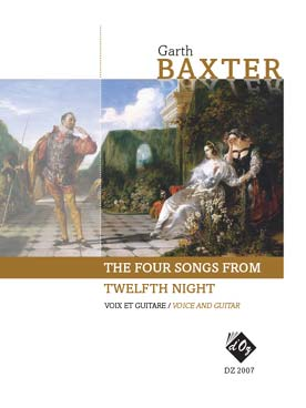 Illustration baxter the four songs from twelfth night