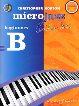 Illustration norton microjazz  for beginners + cd