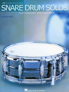 Illustration hans 40 intermediate snare drum solos