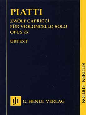 Illustration piatti caprices (12) op. 25 poche