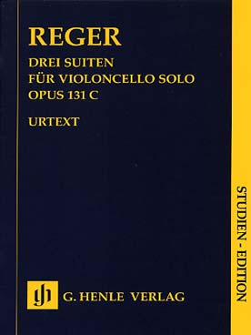 Illustration reger 3 suites op. 131c poche