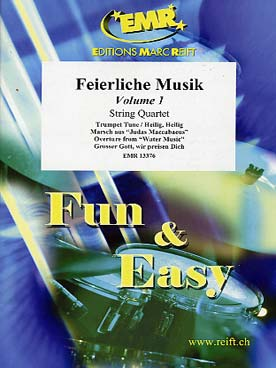 Illustration feierliche musik vol. 1 string quartet