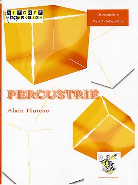 Illustration huteau percustrie pour 10 percussions