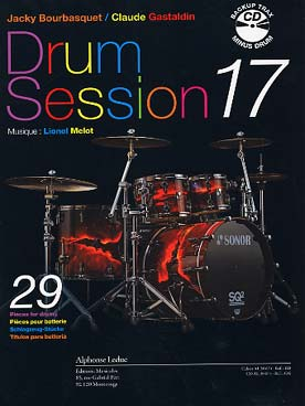 Illustration bourbasquet/gastaldin drum session 17+cd
