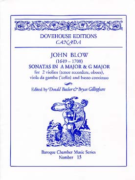 Illustration blow sonatas en la maj et sol maj